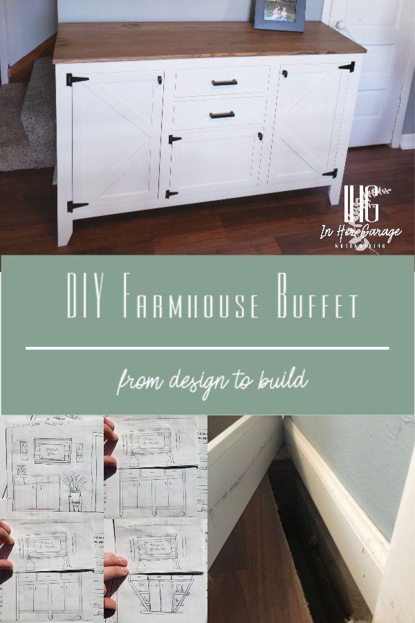 Diy Farmhouse Buffet In 2020 Farmhouse Buffet Farmhouse Diy Diy Console Table