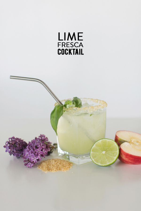 Lime fresca cocktail! Is there anything more satisfying than a crisp, ice cold cocktail?