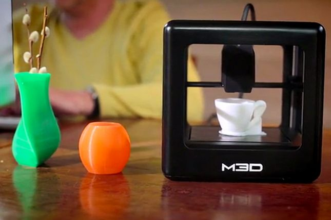 The Micro 3D printer costs only $300.