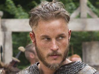 Ragnar Lothbrok.. played by actor Travis Fimmel Vikings