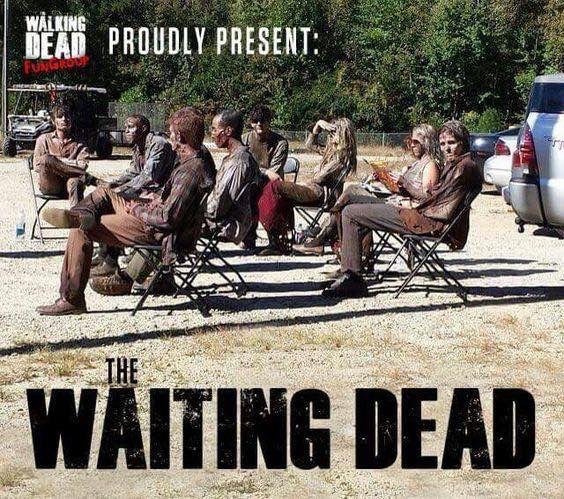 The Waiting Dead The Walking Dead Pinterest