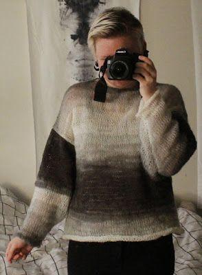 Martje: Grey jumper