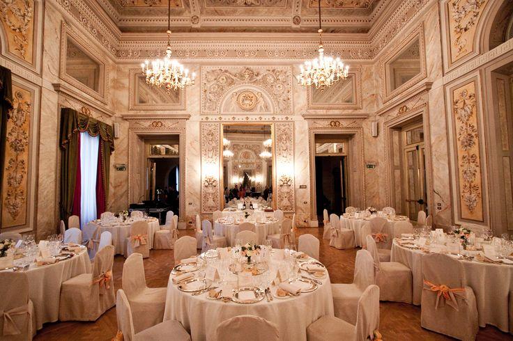Luxury Wedding In St Regis Hotel Ballroom Florence