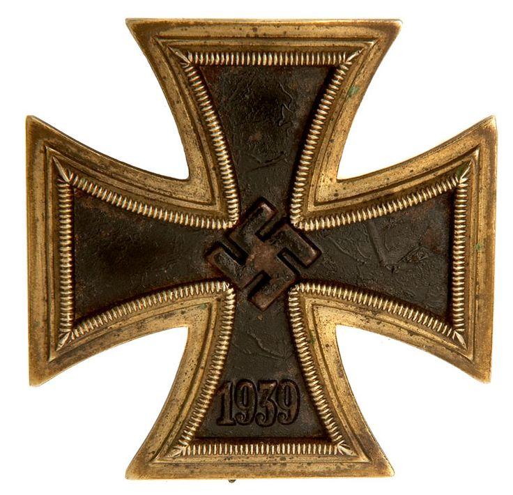 WWII German First Class Iron Cross