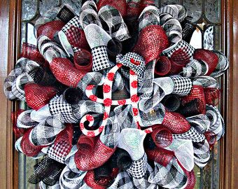 Alabama Deco Mesh Wreath