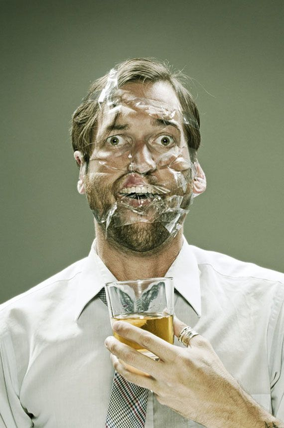 Scotch Tape: A Photoseries Of Taped Faces | Incredible Things // http://www.incrediblethings.com/art-design/scotch-tape-a-photoseries-of-taped-faces/