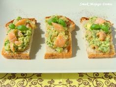 Smak Mojego Domu: Pasta z awokado, wędzonego łososia  i koperku