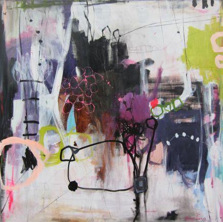 Trine Panum #color + #playful artstrokes + LOVE.