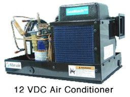 12 volt air conditioner by KoolerAire 12v AC cooler for