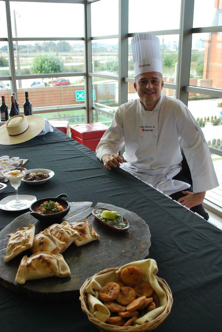 Felipe Macera, chef instructor carrera Gastronomía Internacional  #diadelacocinachilena