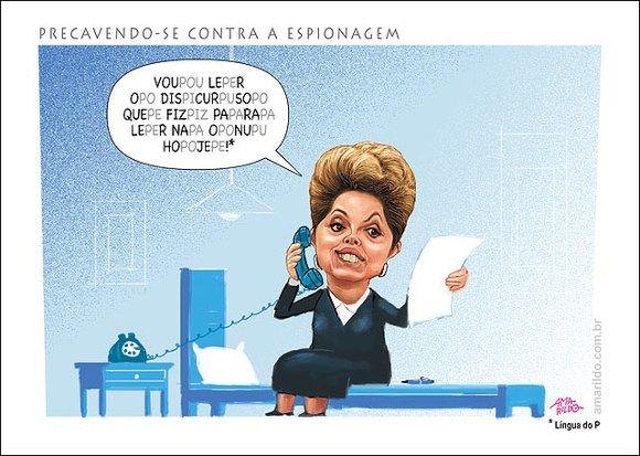 Dilma tenta evitar espionagem
