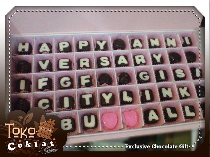 Chocolate Gift for Anniversary