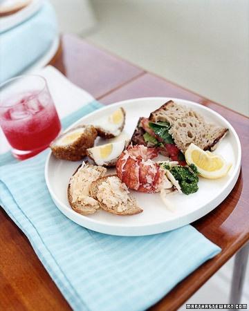 Boiled Lobster Tails - Martha Stewart Recipes   make me some of that   Pinterest   Boil lobster ...