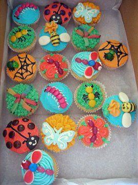 Bug cupcakes | Flickr - Photo Sharing!