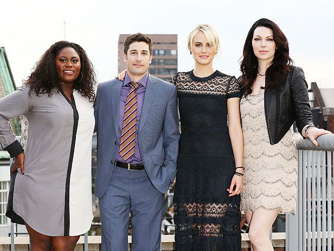 Star Tracks: Monday, June 2, 2014 - THE HEIGHT OF SUCCESS - Danielle Brooks, Jason Biggs, Taylor Schilling, & Laura Prepon #OITNB