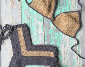Ganchillo de la mano cortos pantalonesSHORTS y por CokettaBeachwear