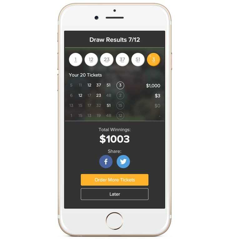 Lottery Results Online