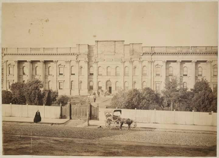 State Library of Victoria in 1866.