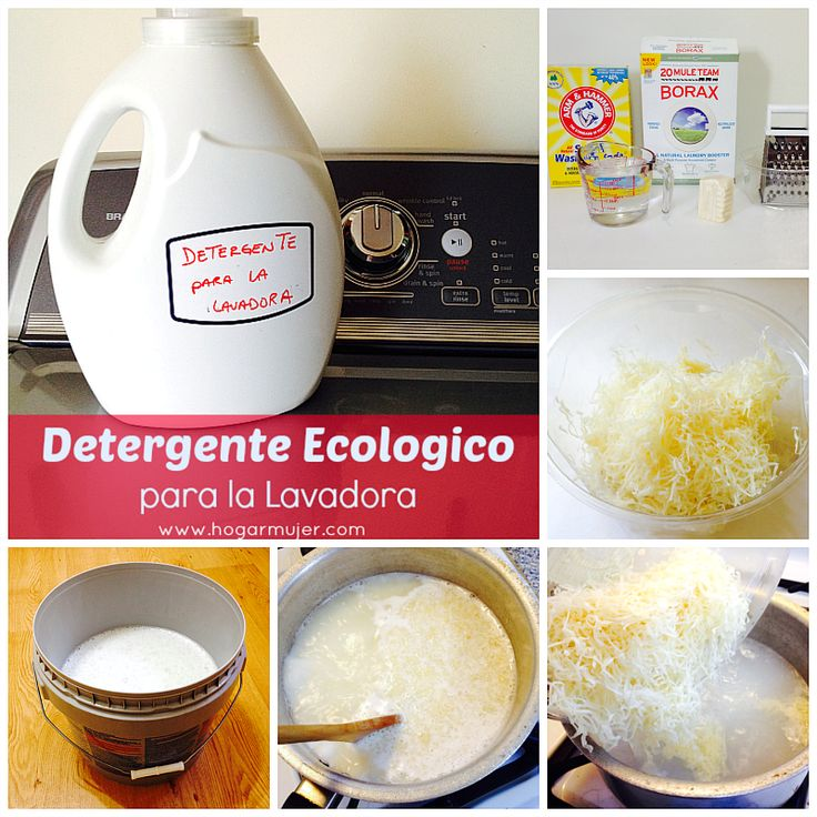 Te cuento como preparar tu propio detergente ecologico - Jabon natural para lavadora ...