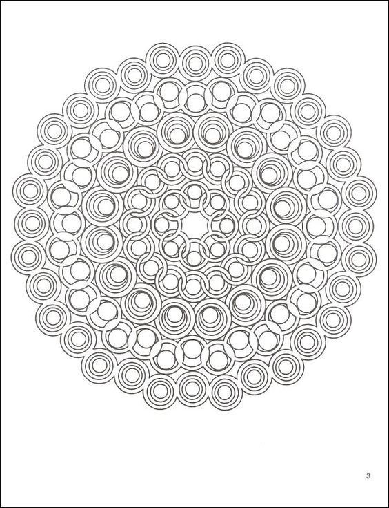 Geometric Art Coloring Book : 17 best mandalas images on pinterest