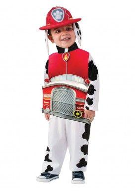Disfraz de Marshall Patrulla Canina deluxe para niño
