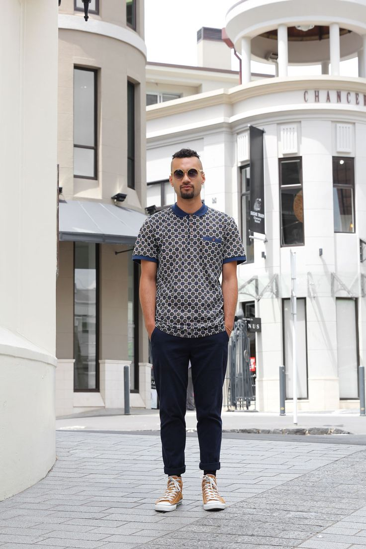 men's street style foureyes