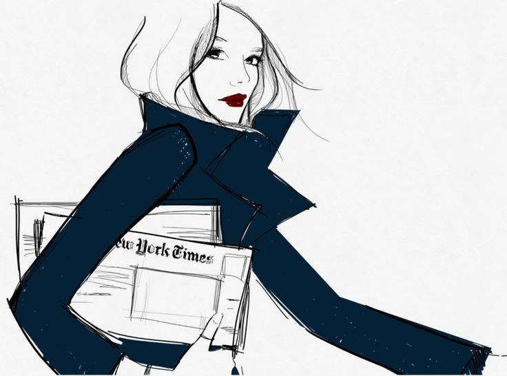 se você quer trabalhar com moda, seja chique... e ser chique não é ter a bolsa certa, mas a atitude certa!