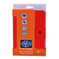 """Tablet case Powertech 7-8"""" - RED - 8.83€ - See more at: http://shop.2frogs.gr"""