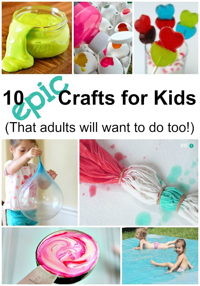 10 Epic Crafts for Kids That Adults Will Want To Do Too! (AD)