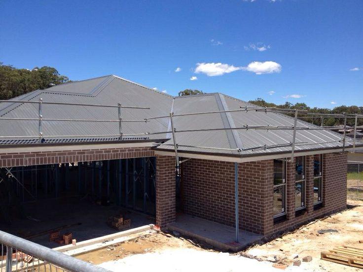 Pepper Bricks & colour bond roof. Chelsea One by McDonalds Jones Homes #MJH