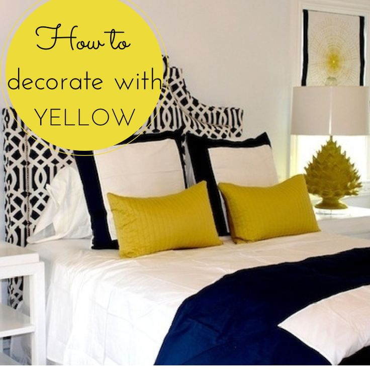 You can't go wrong with one of the brightest and most uplifting colours in the spectrum. From amber and apricot to canary and mustard, yellow looks great when teamed with brown, red, blue and green. Visit http://www.sahomeowner.co.za/2014/03/10/decorate-with-yellow/ for more...