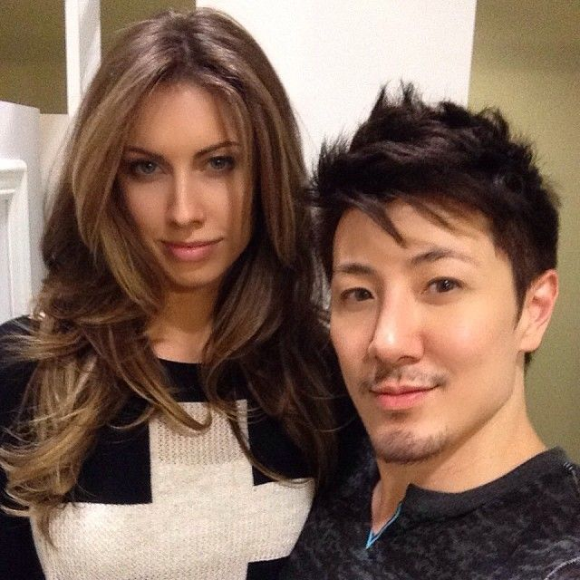 Sexy model/Beauty Queen Katherine Webb got my cut and dimensional color treatment today for her red carpet event! I used @Kenra Professional color on her and style using @AG Hair   firewall and texture spray! Curled with @BELLAMI Hair  ciao Bella iron ! Use code guytang100 to $100 off at www.bellamihair.com #beautyqueens #MsAlabama #MsUSA #AJMcCarron