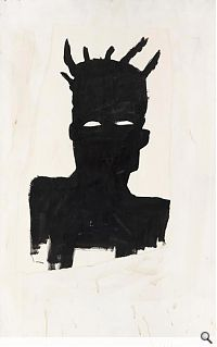Jean-Michel Basquiat; Self Portrait (Plaid), 1983