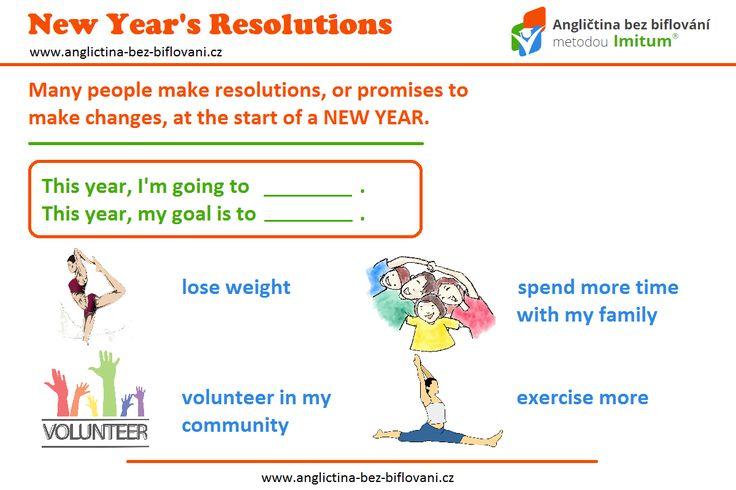 K novém roku patří předsevzetí. Jaké bylo to vaše? Úspěšný start do nového roku přeje Angličtina bez biflování. 🎉 🆕 👍 #happynewyear #resolutions #anglictina