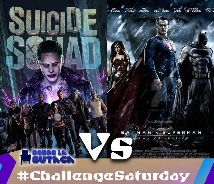 Hoy es #ChallengeSaturday y enfrentamos a los dos grandes estrenos del universo #DC de este año. #SuicideSquad vs #BatmanVSuperman Cual es mas esperado por ti?  #DLB #DesdeLaButaca #EscuadronSuicida #Batman #Superman #Joker Lee más al respecto en http://ift.tt/1hWgTZH Lo mejor del Cine lo disfrutas #DesdeLaButaca Siguenos en redes sociales como @DesdeLaButacaVe #movie #cine #pelicula #cinema #news #trailer #video #desdelabutaca #dlb