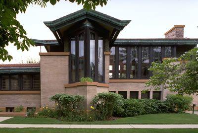 Frank Lloyd Wright. Dana-Thomas House. Springfield Illinois, 1902.