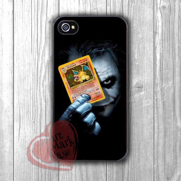 Joker Holding Pokemon Card -eLt for iPhone 4/4S/5/5S/5C/6/ 6+,samsung S3/S4/S5,samsung note 3/4