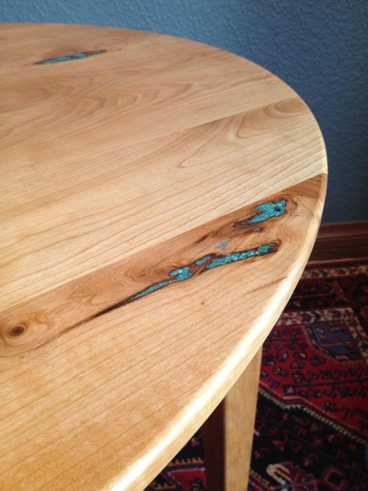 Turquoise inlay in cherry wood table  LOVE. The 25  best Cherry wood furniture ideas on Pinterest   Beige
