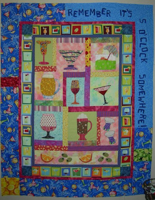 Remember It S 5 Oclock Somewhere This Is A Free Pattern