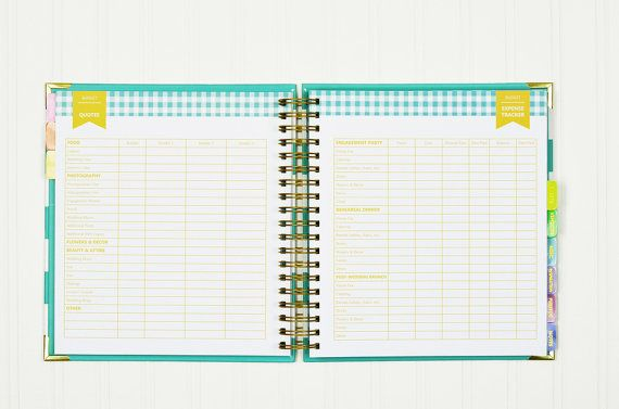 The Wedding Book Keepsake Wedding Planner & Organizer by LucySuiSF