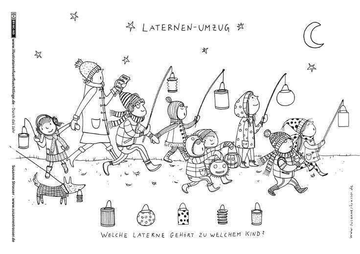 Download als PDF: Durch das Jahr – Sankt Martin; von illustratorenfürflüchtlinge