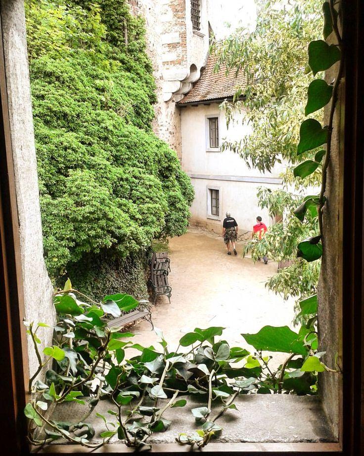#travel #explore #castle #green #view #pernstejn (at Checz Republic)