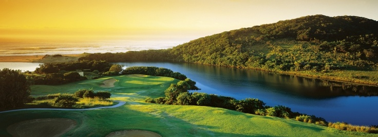 The WIld Coast Sun 1st hole par 4. Situated 2 hours from Durban this course is not only one of the most beautiful in Africa but also one of the toughest #wildcoastsun #golfresortsclub #golfcourses