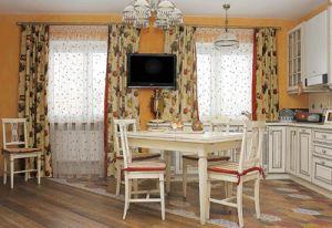 decoracion cortinas largas colores y visillos