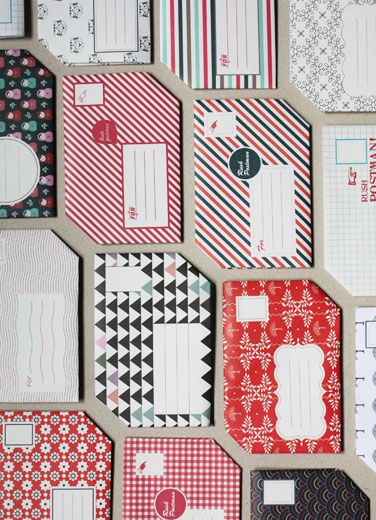 Pli Postal - ready to fold letters made of 18 different original