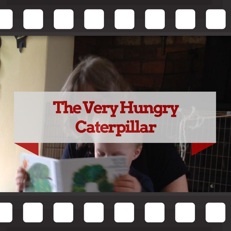"""March 20th is officially """"Very Hungry Caterpillar Day"""". Here's Eric Carle's classic story read by a 3-year old celebrate the anniversary of the publication."""