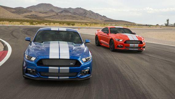 Поникар Shelby Mustang GTE 2017 / Шелби Мустанг GTE 2017 – вид спереди