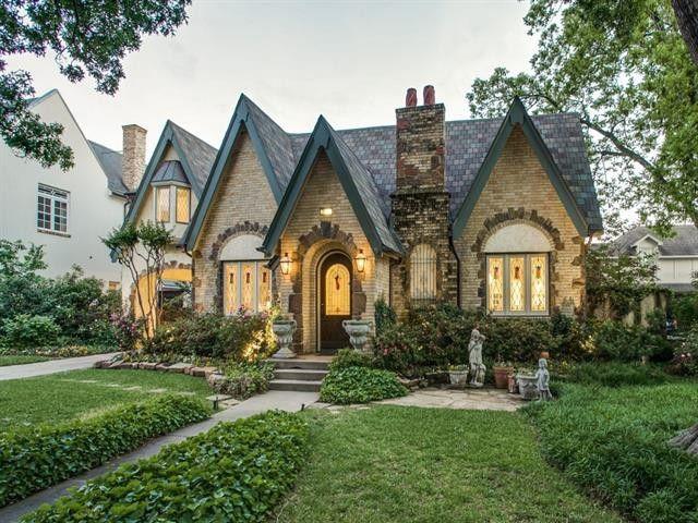 3313 Drexel Dr Dallas Tx 75205 Cottage Exterior Storybook Homes Dream House Exterior
