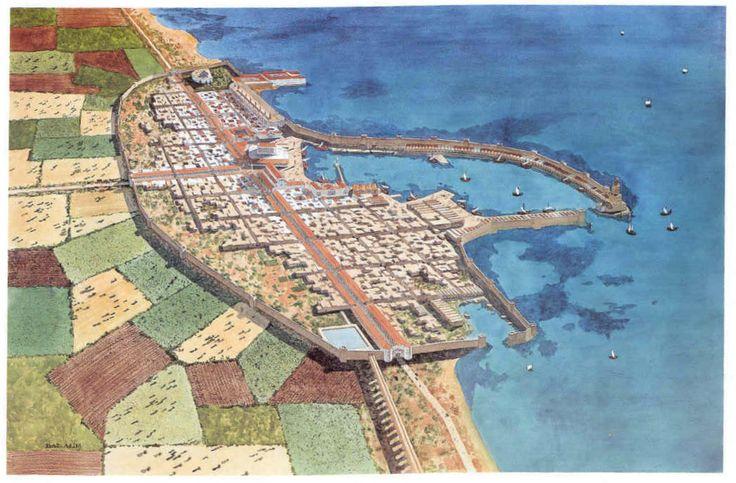 Caesarea Maritima (built by Herod)  - Reconstruction