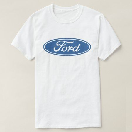 Ford Motor Company Logo T-Shirt - click/tap to personalize and buy